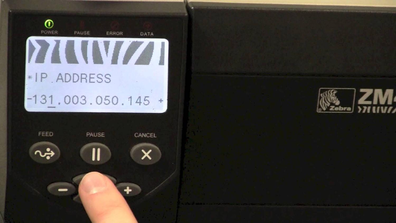 Εκτυπωτής Zebra ZM400 Ethernet Refurbished
