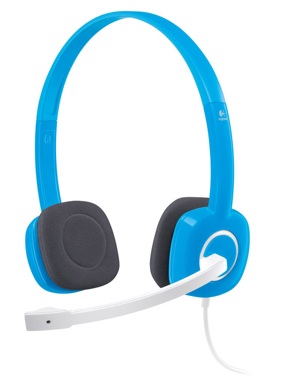 Headset Logitech H150 Blueberry