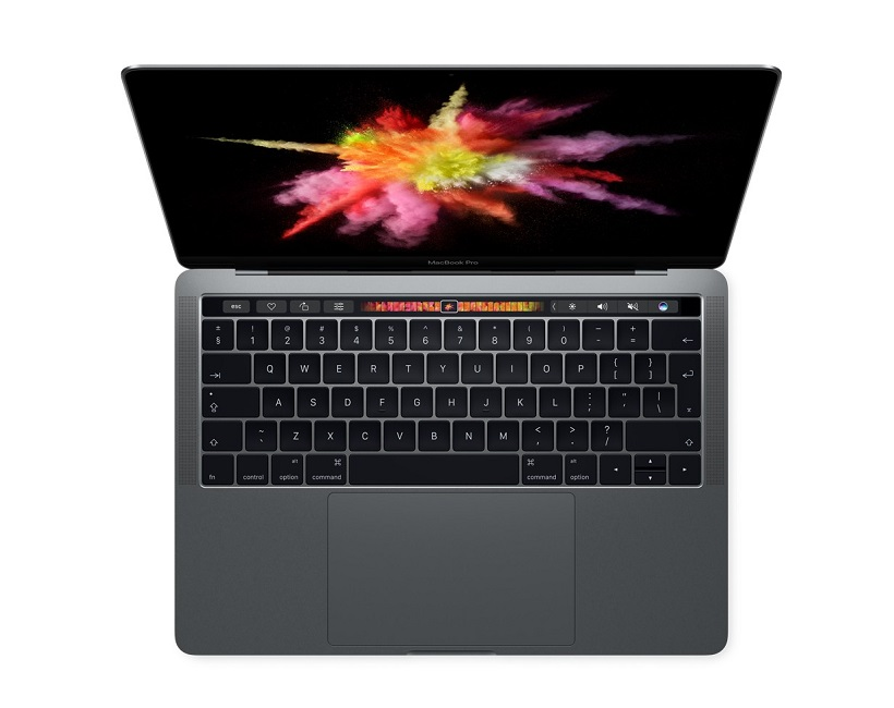 "Apple MacBook Pro 13"" With Touch Bar Space Grey πάνω"