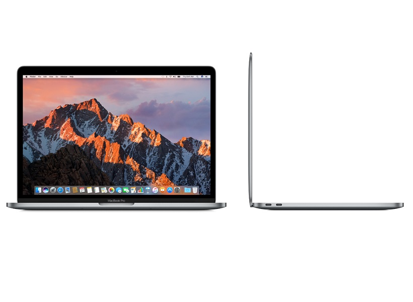 "Apple MacBook Pro 13"" With Touch Bar Space Grey πλάι"