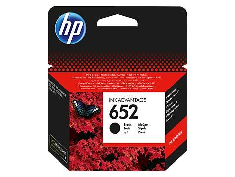 Μελάνι HP 652 Black Ink