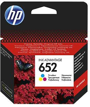 Μελάνι HP 652 Tri-Color Ink Cartridge