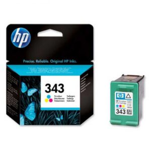 Μελάνι HP 343 Tri-Color Ink Cartridge
