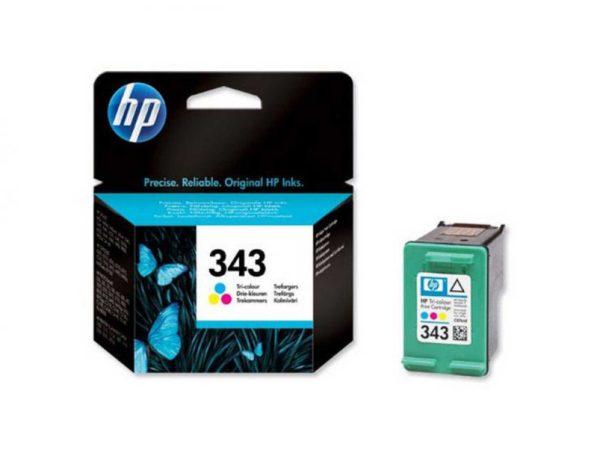 Μελάνι HP 343 Tri Color Ink Cartridge