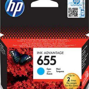 Μελάνι HP 655 Cyan Ink Cartridge