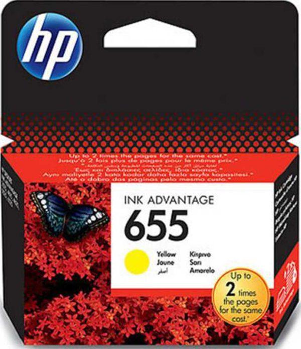 Μελάνι HP 655 Yellow Ink Cartridge