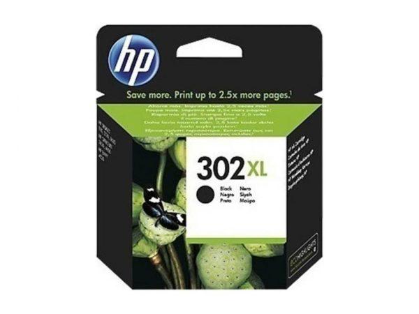 Μελάνι HP 302 XL Black Ink Cartridge (F6U68AE)